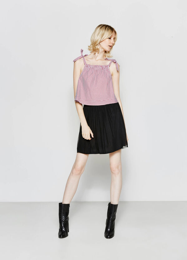 High-waisted tulle skirt | OVS