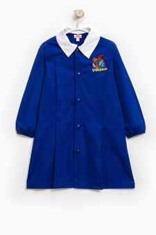Smock with Spiderman patch, Royal Blue, hi-res