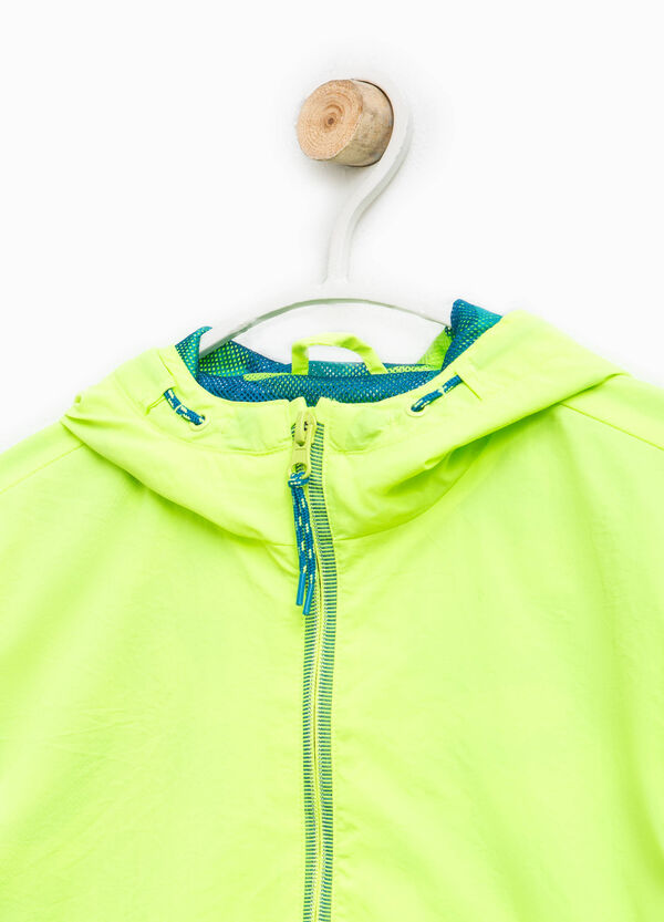 Hooded jacket with zip | OVS