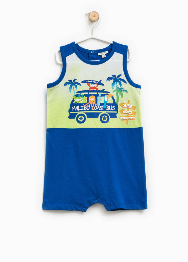 Sleeveless printed sleepsuit | OVS