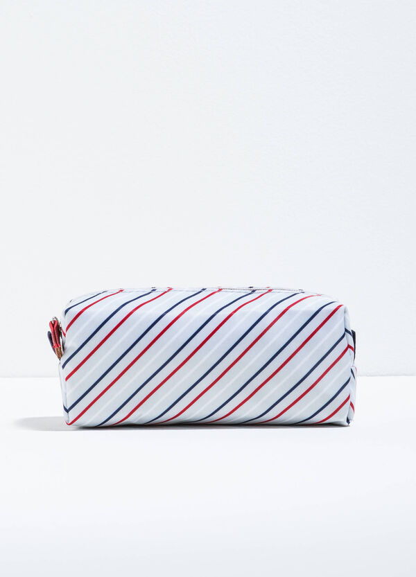 Patterned beauty bag with zip | OVS