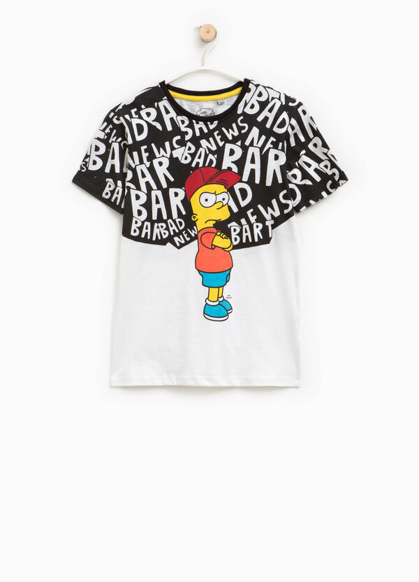 T-shirt con stampa The Simpsons | OVS
