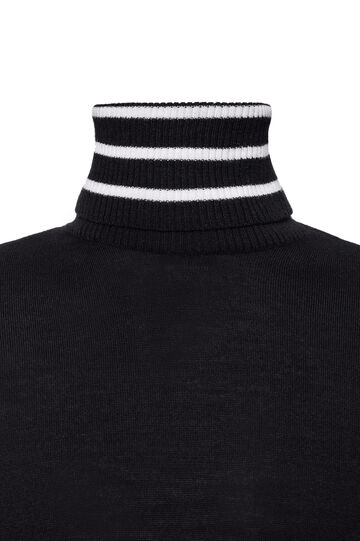 Tricot Jean Paul Gaultier for OVS, Nero, hi-res