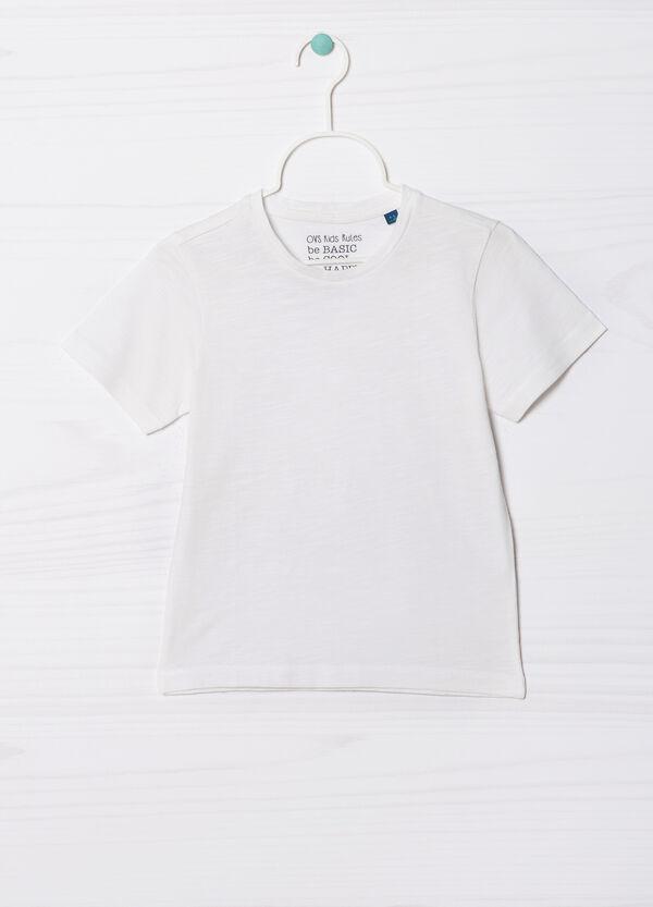 T-shirt puro cotone tinta unita | OVS