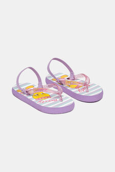 Cartoon flip-flops, Lilac, hi-res