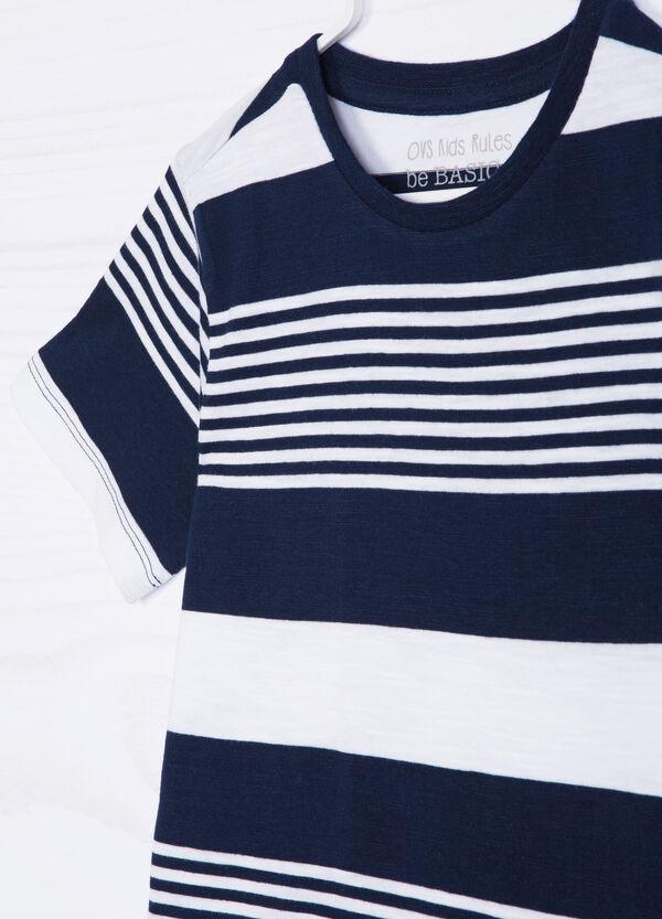 Striped, 100% cotton T-shirt | OVS