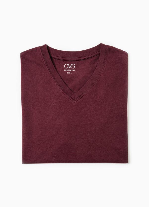 V-neck cotton undershirt | OVS