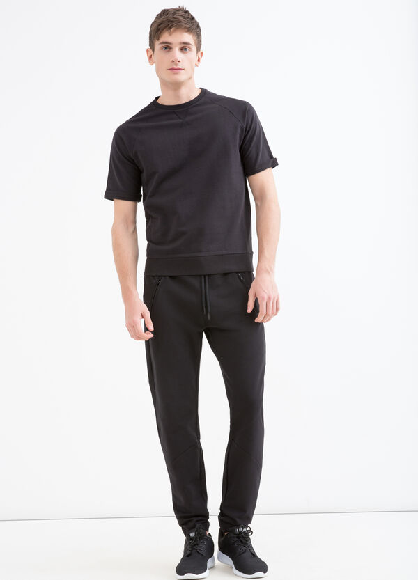 Cotton jersey trousers | OVS