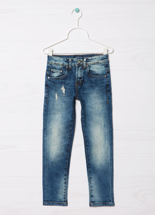 Jeans effetto used Blue Black | OVS