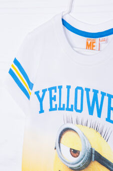 100% cotton Minions T-shirt, Cream, hi-res