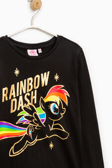 T-shirt with My Little Pony print, Black, hi-res