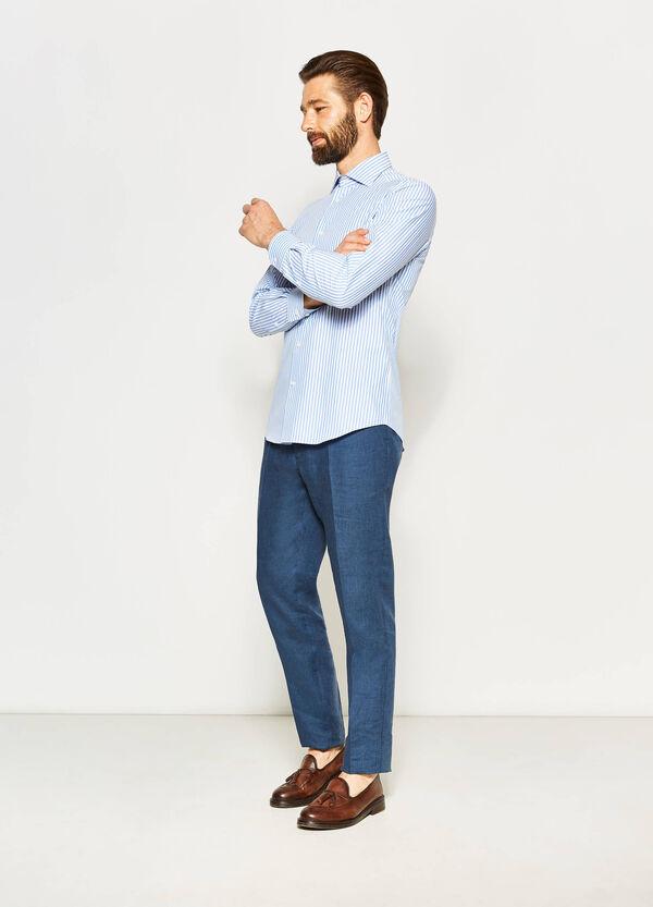 Camisa formal slim fit de rayas | OVS