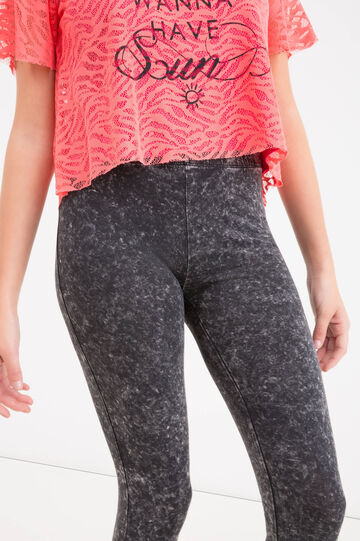 Leggings cotone stretch maltinto Teen