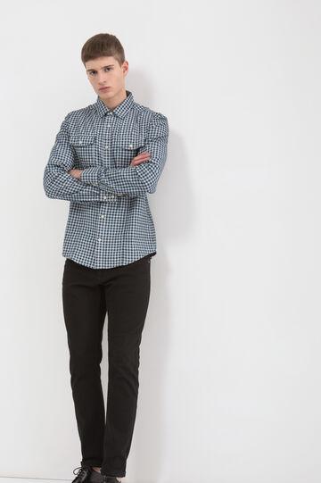 Camicia puro cotone a quadretti, Multicolor, hi-res