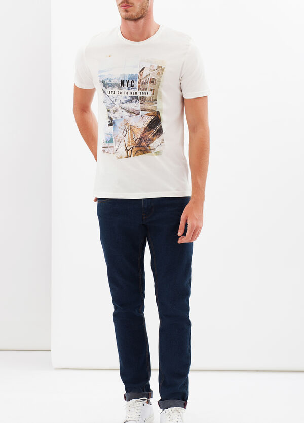 T-shirt with photo print | OVS