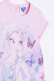 Stretch T-shirt with Frozen print, Pink, hi-res