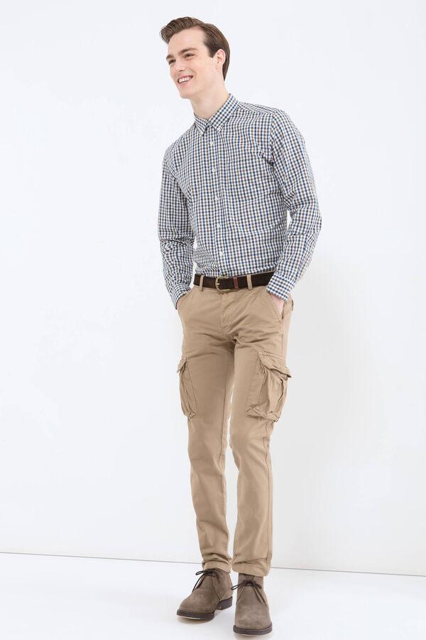 Pantaloni cargo puro cotone regular fit | OVS