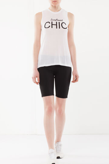 Cycling-style top