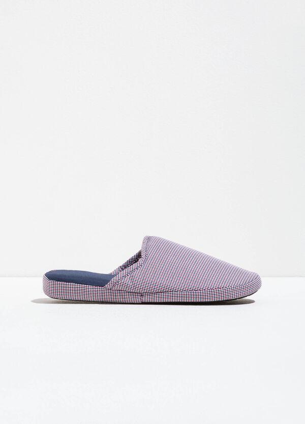 Pantofole fantasia a quadri | OVS