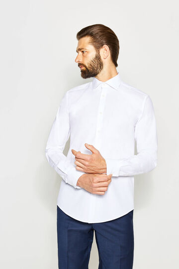 Slim-fit formal shirt