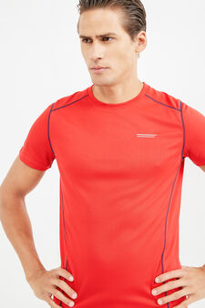 OVS Active Sport Training T-shirt, Red, hi-res