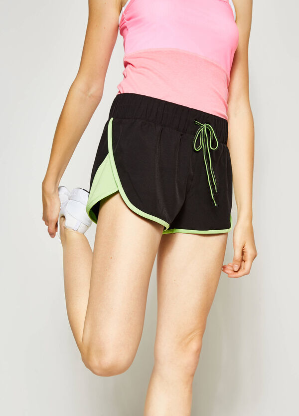 Shorts with edging and drawstring | OVS
