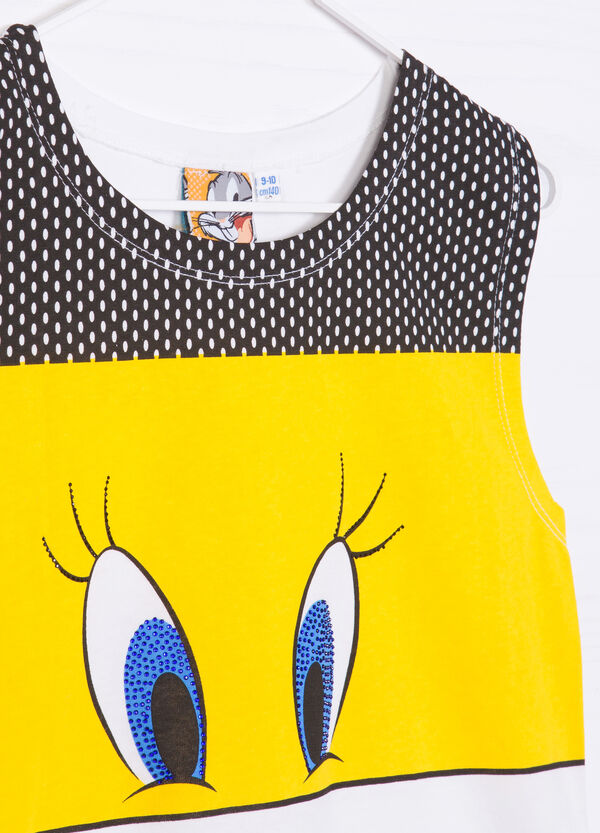100% cotton top with Tweetie Pie print | OVS