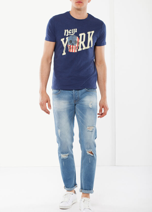 T-shirt con stampa frontale | OVS