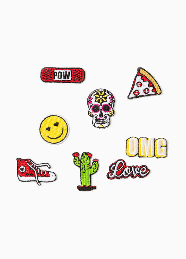 Set of eight patches in various shapes | OVS