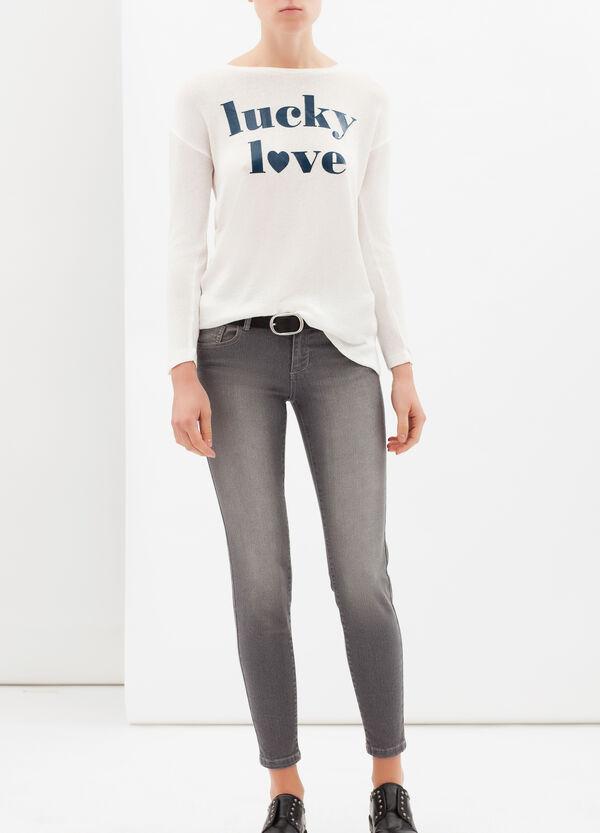 Printed sweatshirt | OVS
