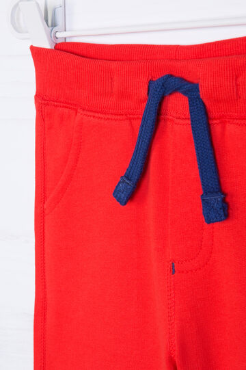 Pantaloni corti cotone con coulisse