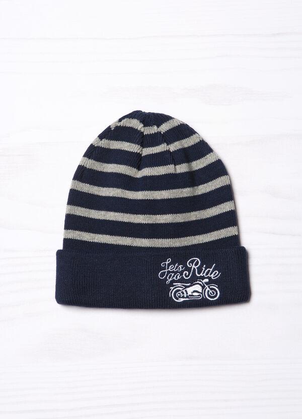 Cappello a cuffia a righe | OVS