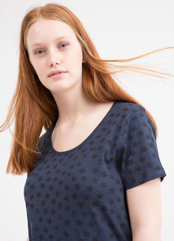 T-shirt puro cotone fantasia Curvy | OVS