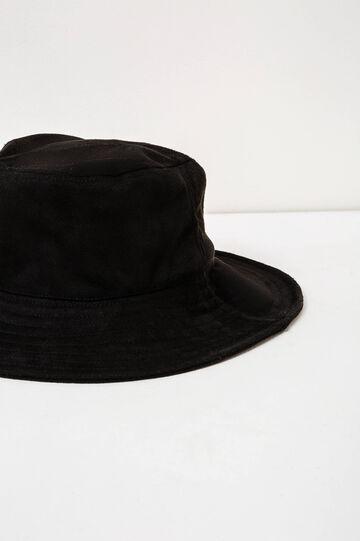 Wide brim hat, Black, hi-res