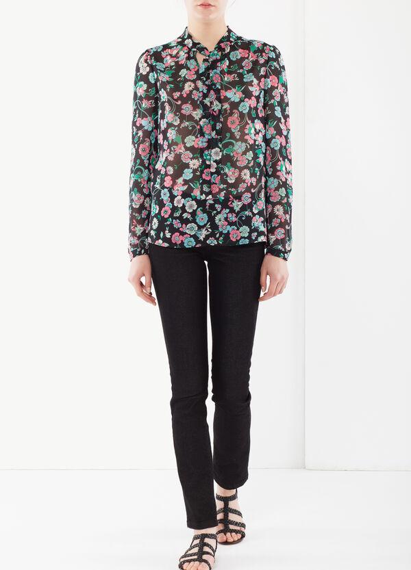 Scarf neck blouse | OVS