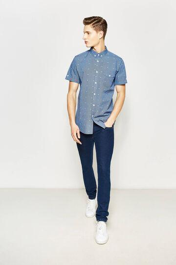 G&H casual micro check shirt