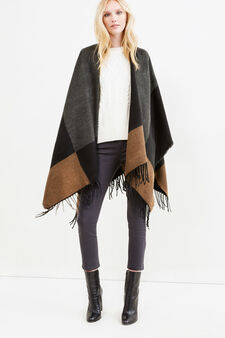 Fringed scarf, Multicolour, hi-res
