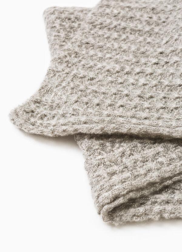Wide knit scarf | OVS