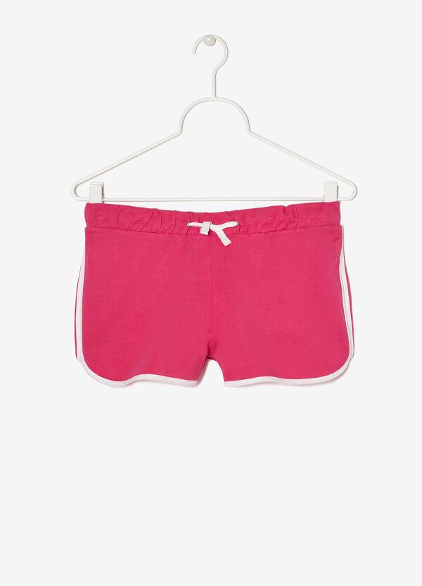 Shorts con inserti a contrasto   OVS