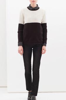 Slim-fit stretch jeans, Black, hi-res