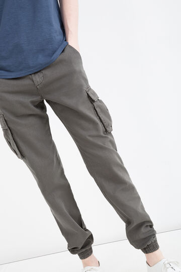 G&H linen and cotton blend trousers