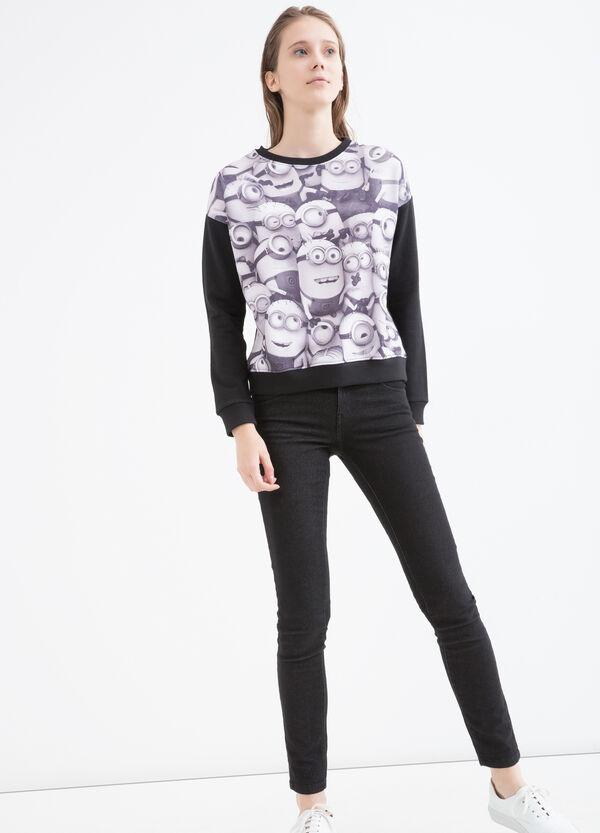 Minions cotton blend sweatshirt | OVS