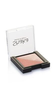 Two-tone eyeshadow., Natural, hi-res