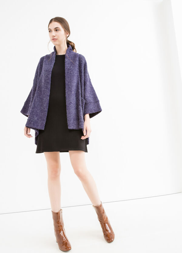 Cardigan with buttonless opening | OVS