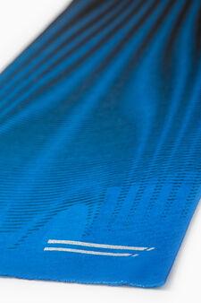 Scaldacollo sportivo fantasia, Azzurro celeste, hi-res