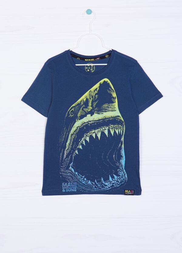 Maui & Sons cotton T-shirt with shark | OVS