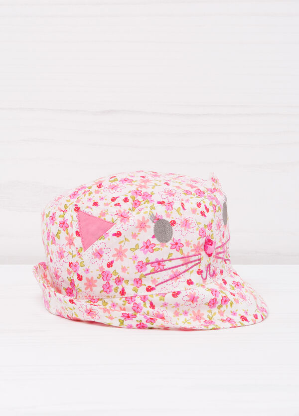 Patterned cotton fishing hat | OVS