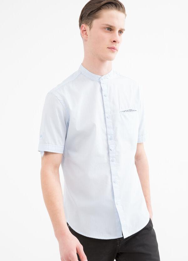 Camicia puro cotone collo coreana | OVS