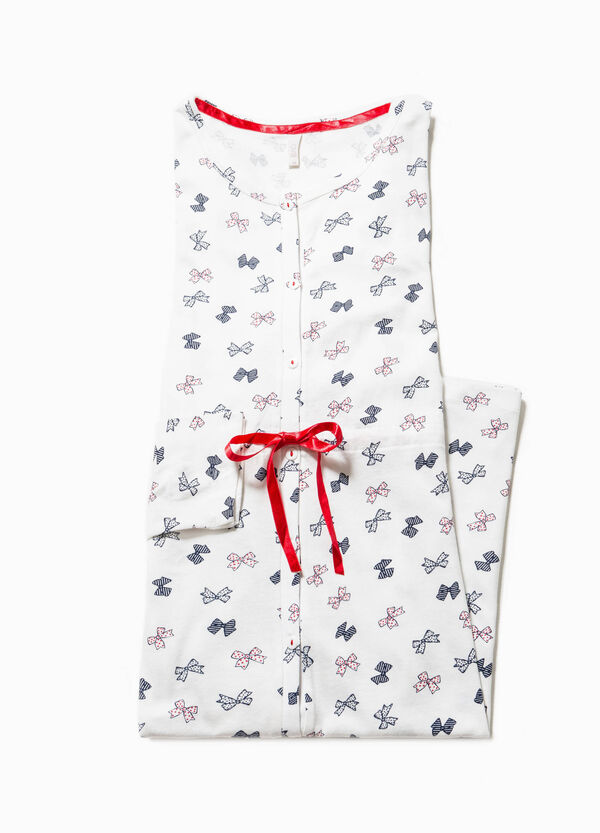 Nightdress with snowflakes print | OVS