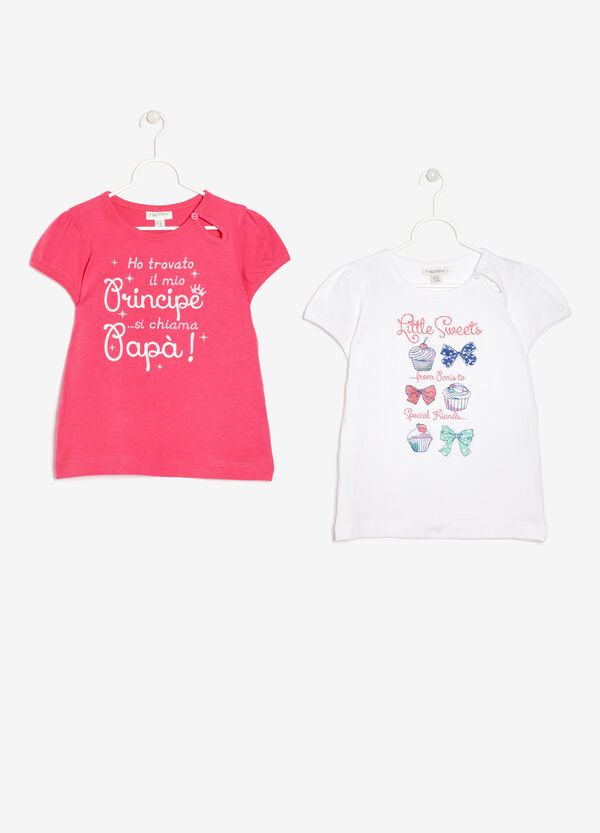 Set due t-shirt cotone   OVS